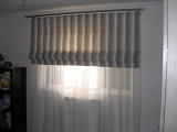 LIVING ROOM ROMAN CURTAINS 006